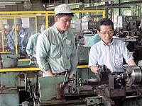 製造企業グループの活動の写真